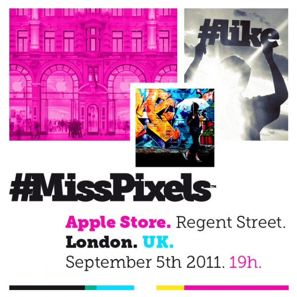 MissPixels Apple Store Regent Street London