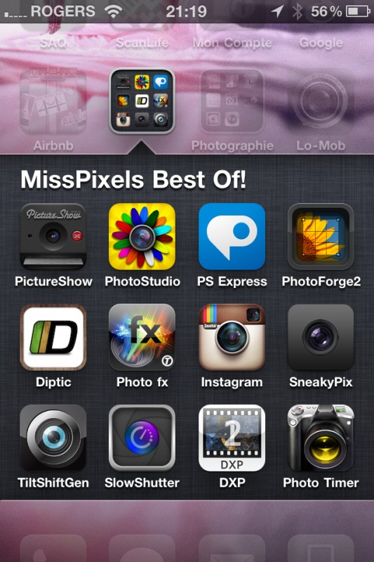 MissPixels best apps for September 2011