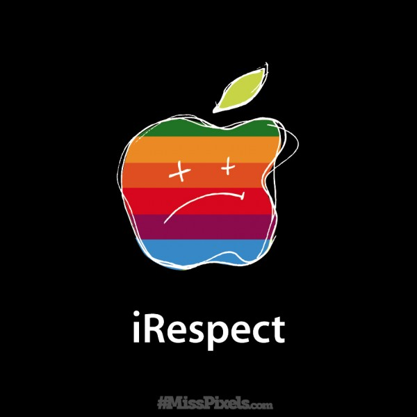 irespect RIP Steve Jobs - illustration by MissPixels™
