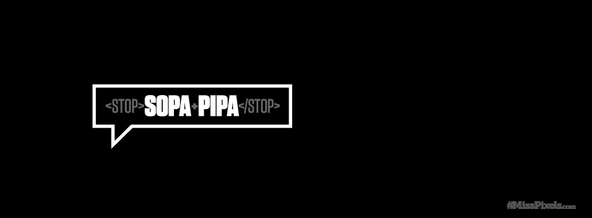 Sopa Pipa Facebook timeline cover by misspixels