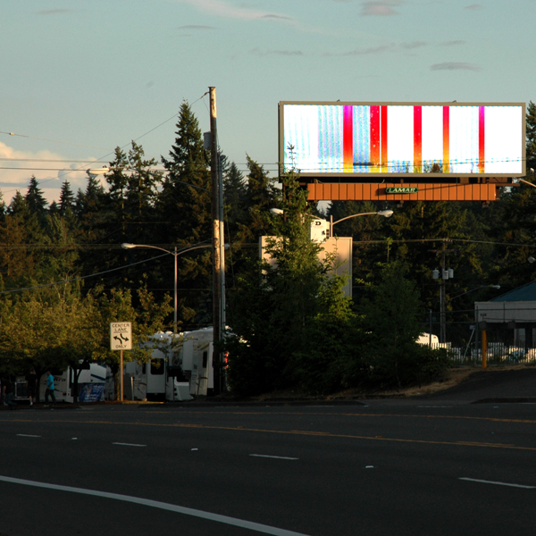 MissPixels Billboard Art Project in Salem USA