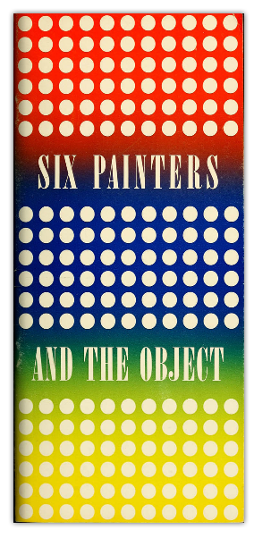 Six painters and the object