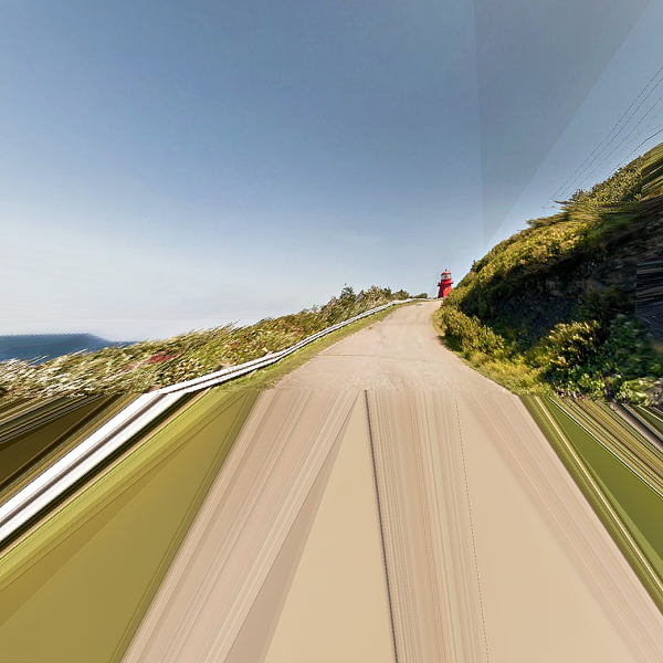 Google Street view - MissPixels project